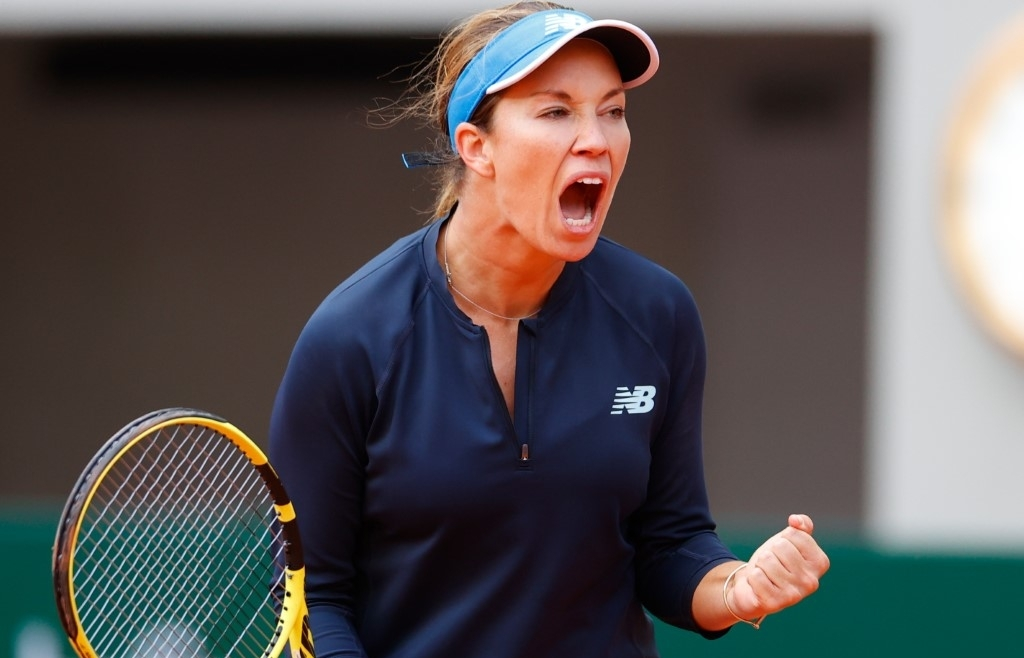 Collins driven on by memories of '$50 and Greyhound bus' at Roland Garros