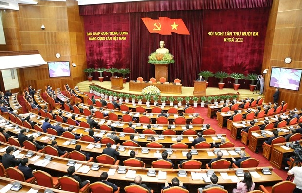 Socio-economic, personnel issues in focus of Party Central Committee's 13th session