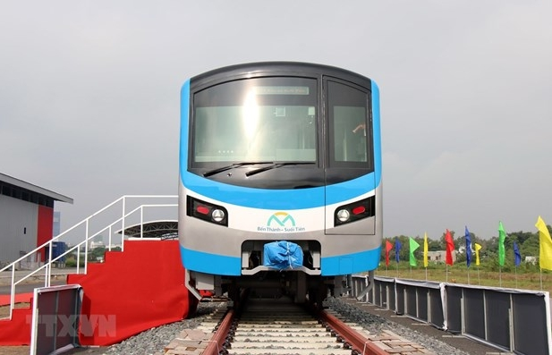 hcm city receives first train for metro line no 1