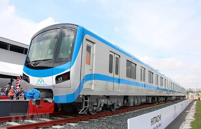 HCM City receives first train for Metro Line No. 1