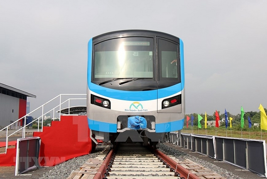 hcm city receives first train for metro line no 1 80027
