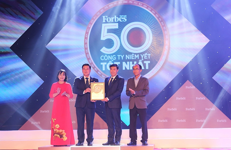 hdbank named among top 50 listed companies in 2020