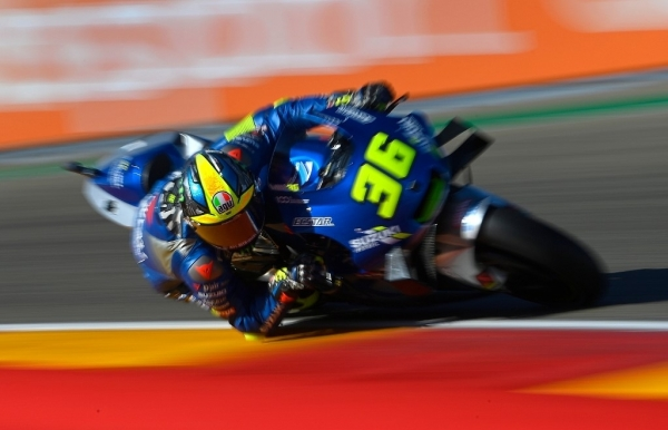 morbidelli quickest in teruel practice as title contenders reach q2