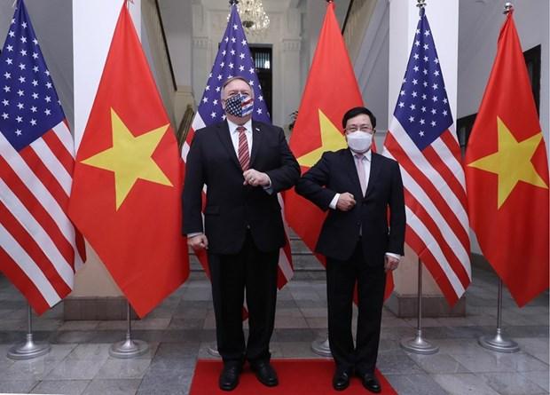 vietnam values comprehensive partnership with us deputy pm