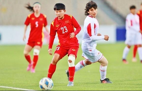 7 – 0 win over Tajikistan sends Vietnam to Women's Asian Cup finals