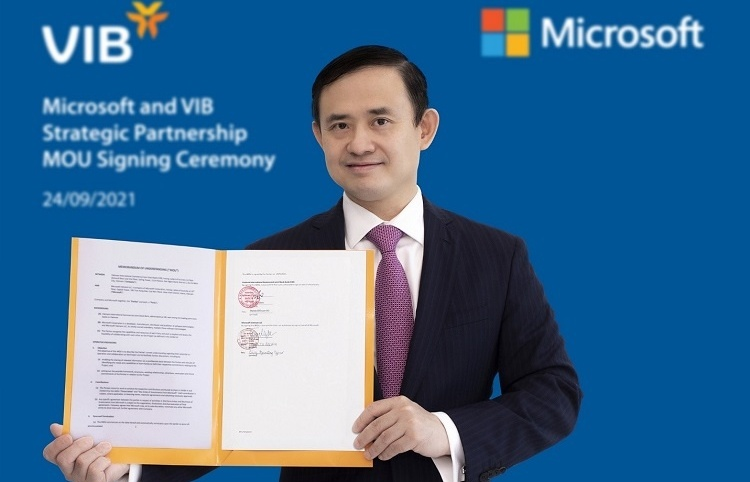VIB and Microsoft form strategic partnership to boost service speed and innovation