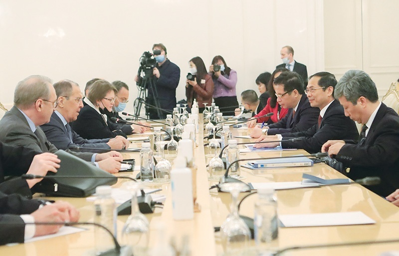 Commitments made for expansion of Russian ties