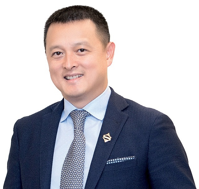 Dang Minh Truong, chairman of the board and general director of Sun Group