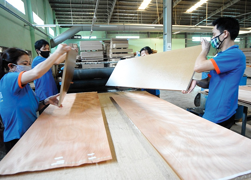 Vietnam's timber and furniture exporters will be relieved that the US investigation has been concluded, photo:Le Toan