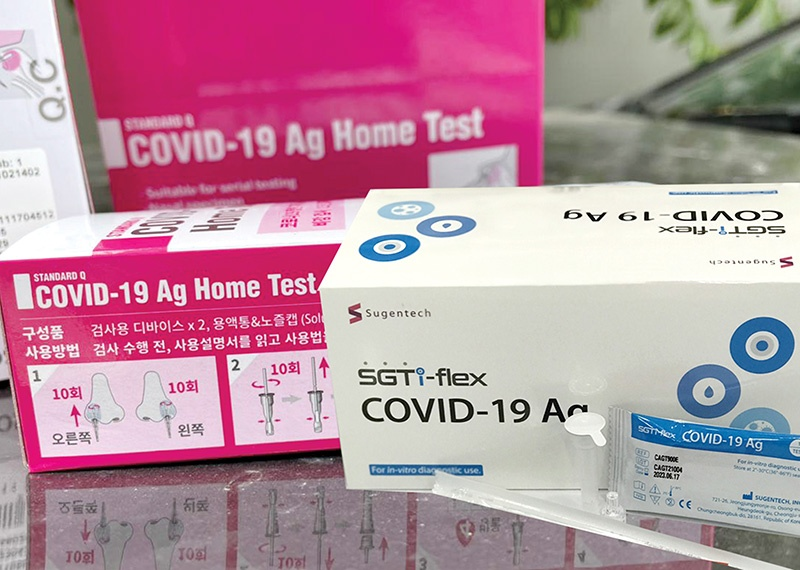 Vietnam is now in a position to buy test kits at lower prices, photo Le Toan