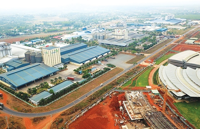 Industrial zone sub-areas attracting attention of buyers