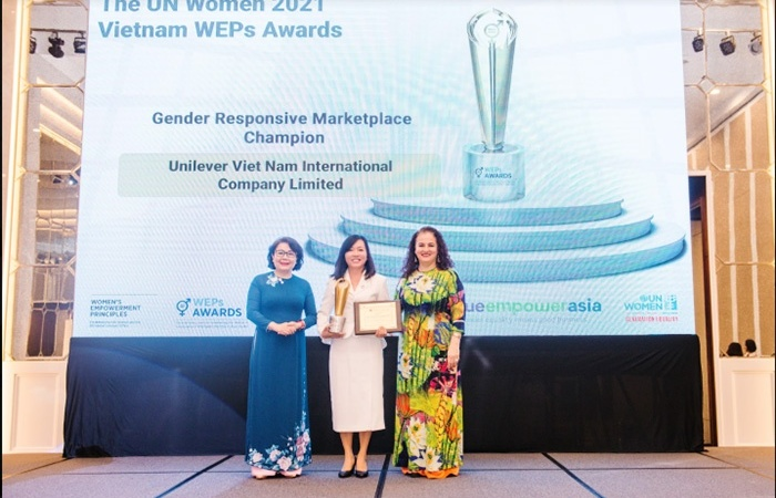 Unilever Vietnam's efforts and achievements in driving gender equality