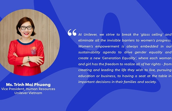 Unilever Vietnam leads the way in gender equality and women's empowerment