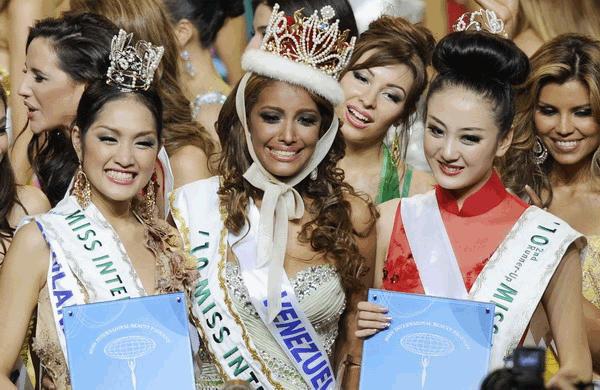 Venezuela wins Miss International 2010