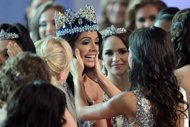 Miss Venezuela wins Miss World crown
