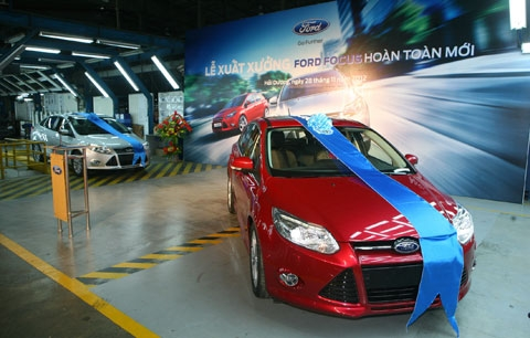 Ford Vietnam celebrates first all-new Focus off-the-line