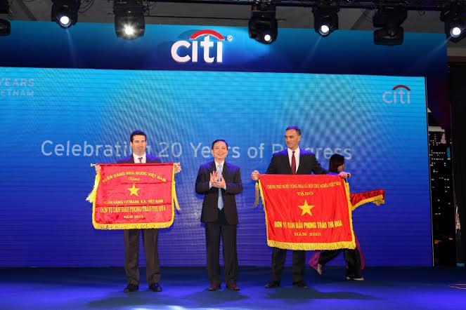 Citibank Vietnam celebrates 20 years of progress