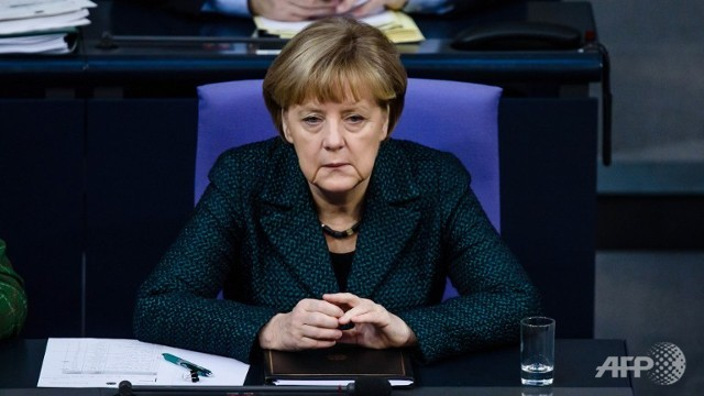 islamic state most brutal threat ever to region merkel