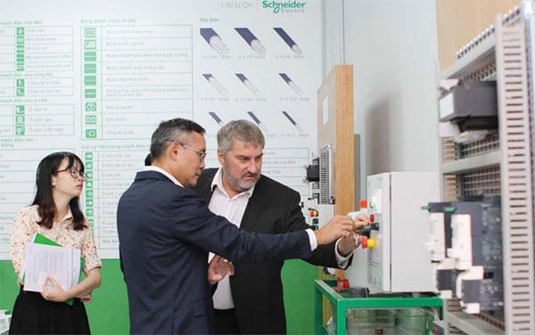 Schneider Electric's CSR programmes promote sustainability