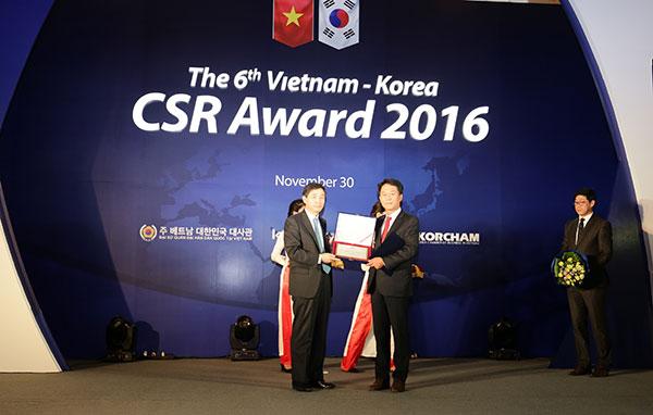 csr awards honour six korean firms