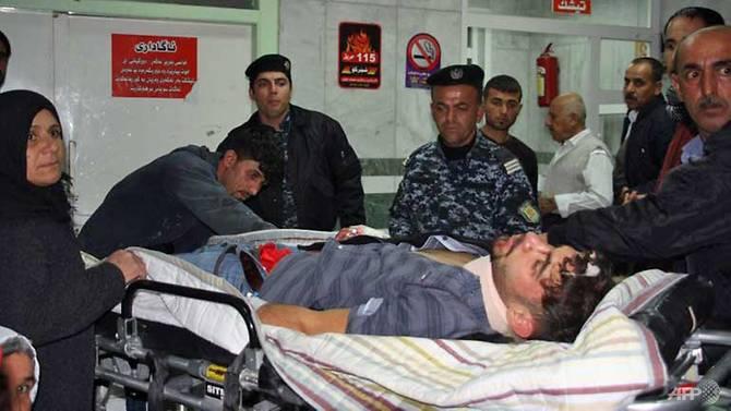 Strong quake hits Iran-Iraq border, 67 dead