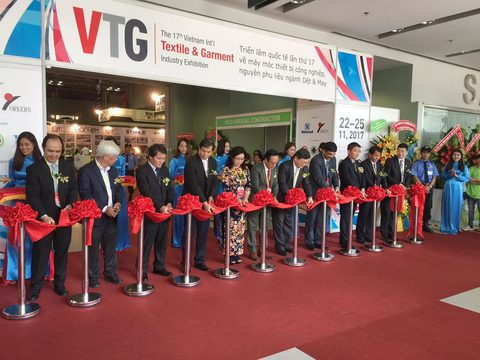 International textile and garment exhibition opens in HCM City
