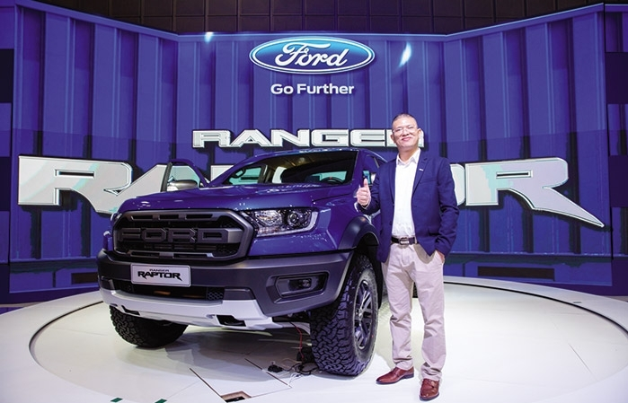 fords ranger raptor devours competition at vietnam car series