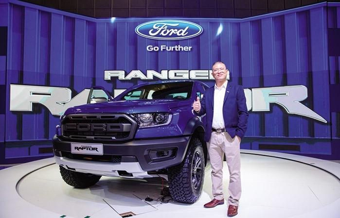 Ford's Ranger Raptor devours competition at Vietnam car series