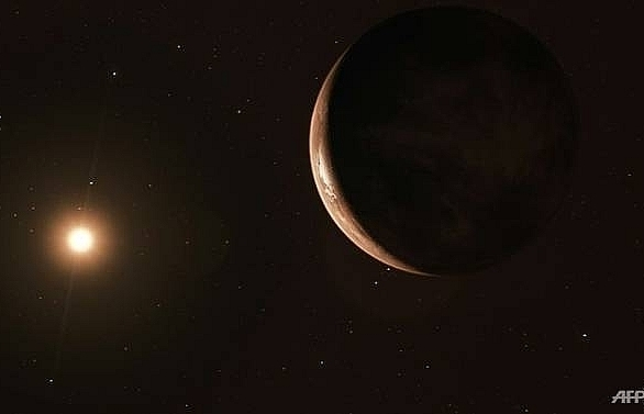 super earth discovered orbiting suns nearest star