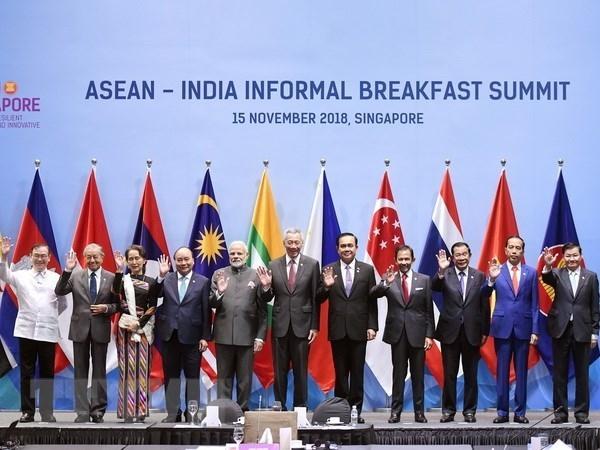 pm joins asean india informal breakfast summit in singapore