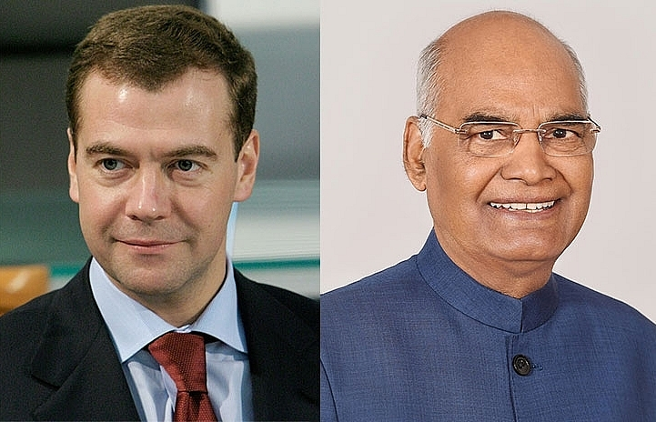 indian russian leaders arrive for official visit