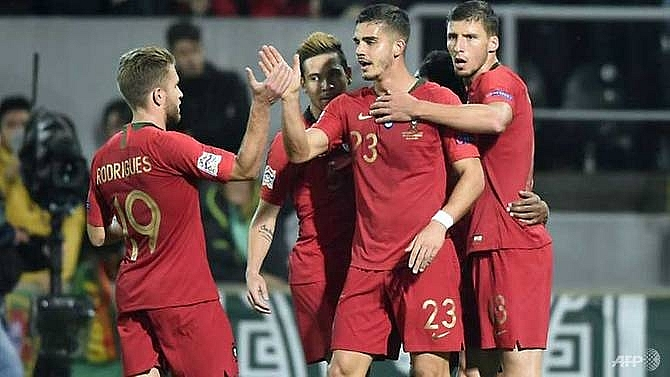 portugal held by poland sweden promoted in nations league
