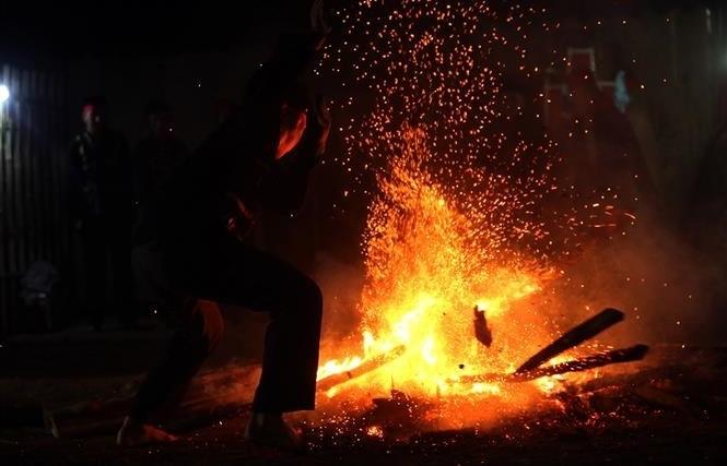 Fire dancing festival reenacted in Dien Bien province