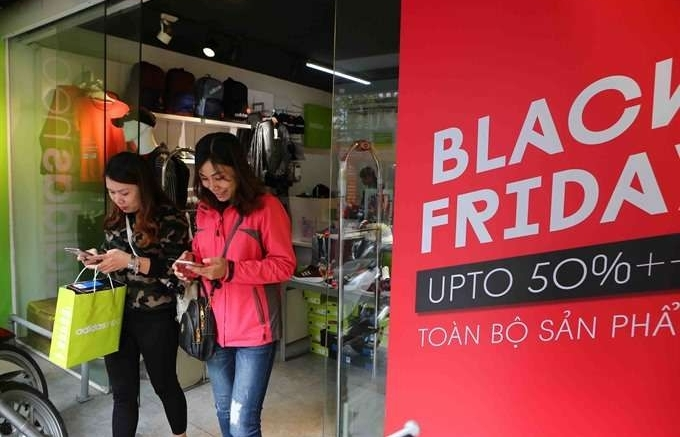 Vietnamese shoppers go mad for Black Friday