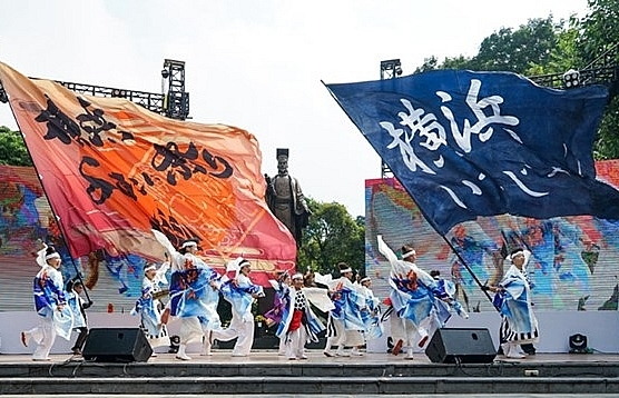 kanagawa festival to thrill visitors in downtown hanoi