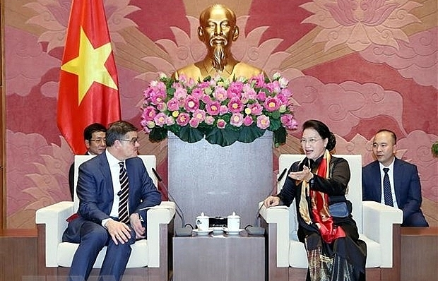 NA leader: Vietnam considers Germany an important partner