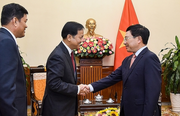 vn myanmar agree to work closely in 2020