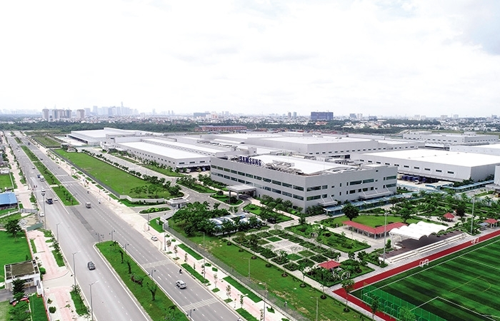 Industrial zones drive growth in Thai Nguyen province
