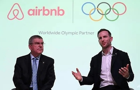 airbnb incurs paris wrath over olympics partnership
