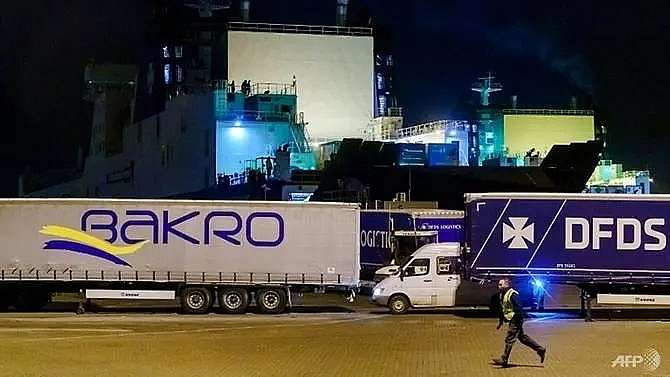 migrants found alive in refrigerated truck on dutch uk ferry