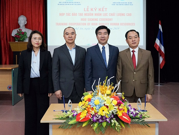 Nghe An has been a favoured destination for foreign investors