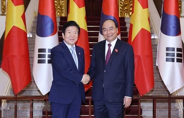 Prime Minister hosts RoK NA Speaker