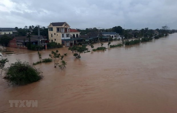 uk donates 500000 gbp to support flood victims in central region