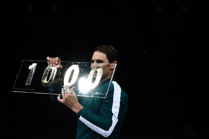 great achievement nadal claims 1000th win of career
