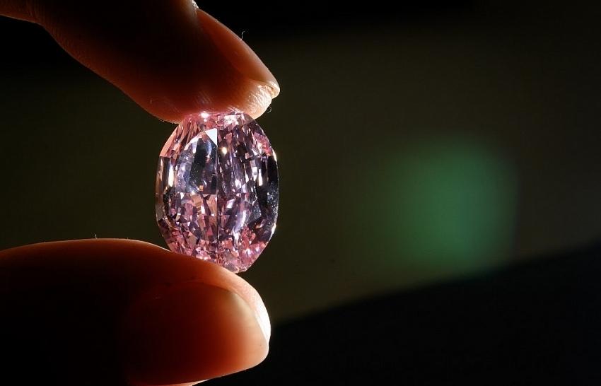 Rare Russian pink diamond sells for $27 million