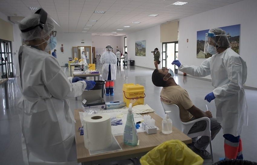 Spain Covid-19 death toll passes 40,000