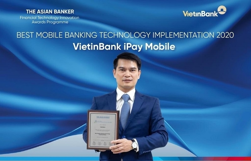 VietinBank iPay Mobile receives Best Mobile Banking Technology Implementation award