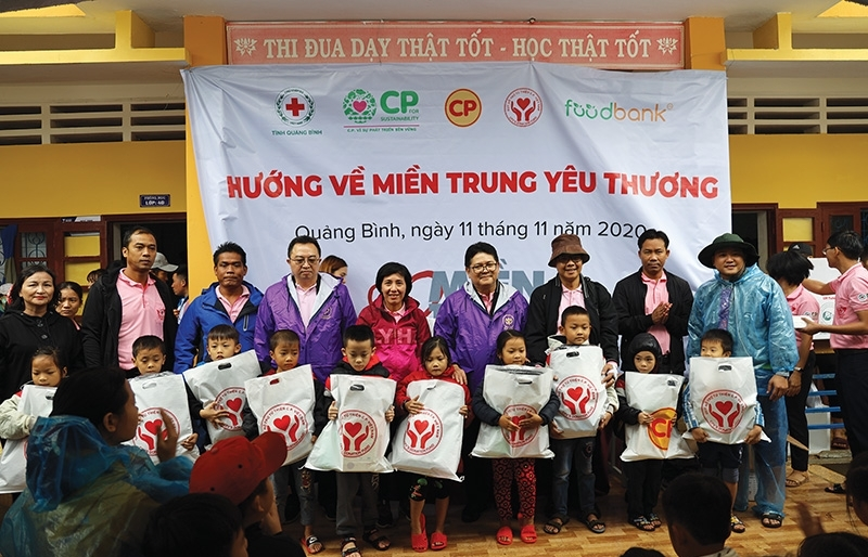 C.P. Vietnam continues charity in Central Vietnam