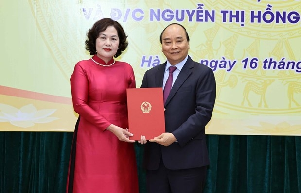 Appointment decision presented to new governor of central bank