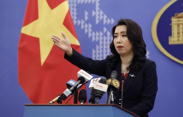 Spokeswoman: Countries call for sustainable peace in East Sea